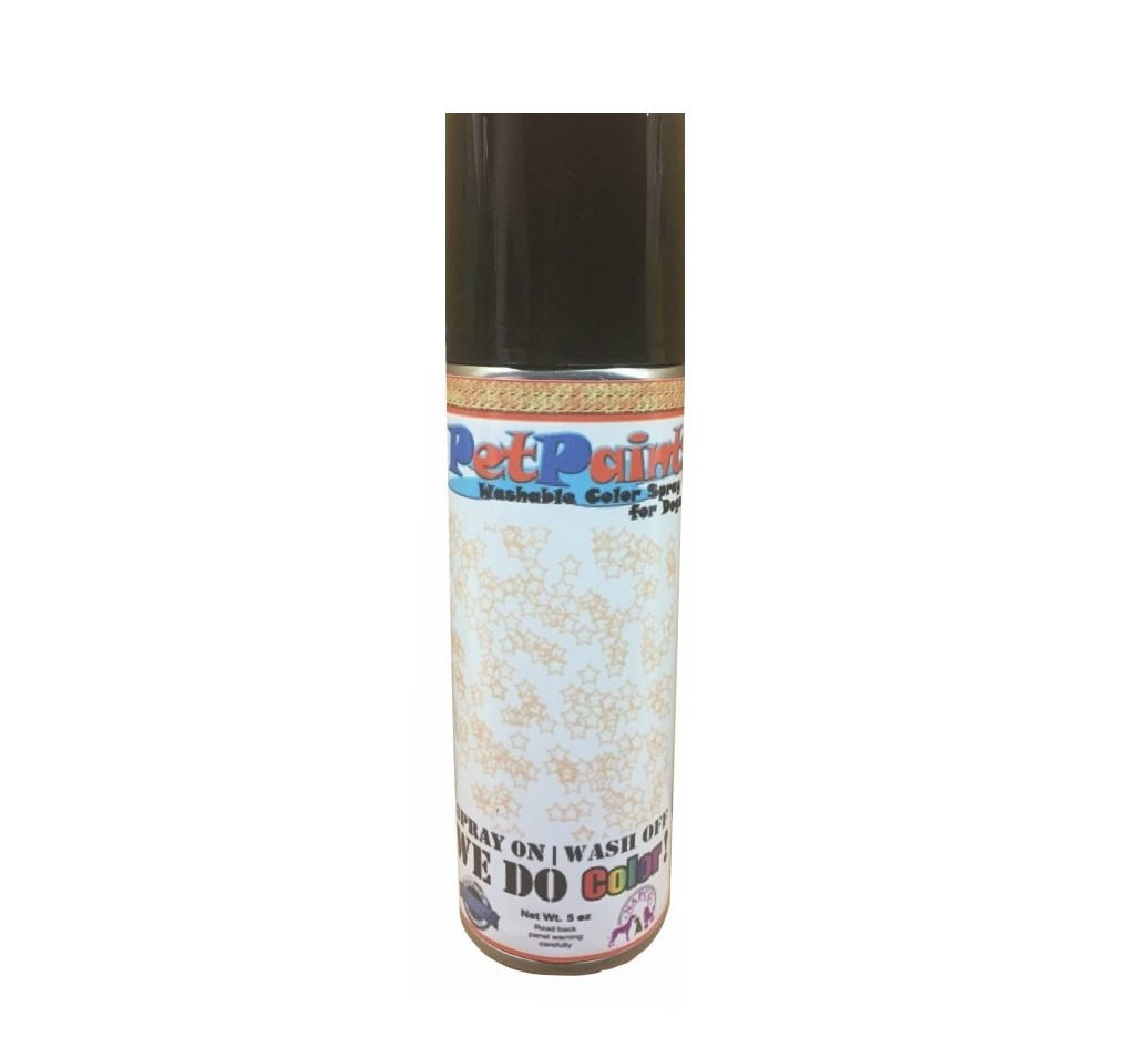 Glitter Pet Hair Spray - Gold