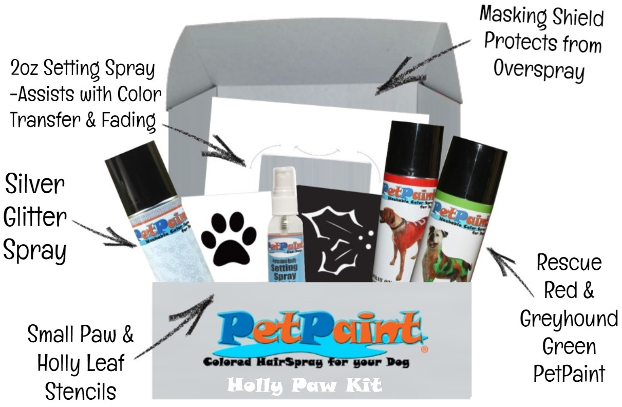 Holly Paw Deluxe Christmas Gift Set