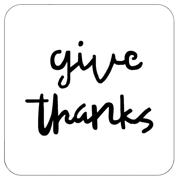 Give Thanks Professional Stencil Insert