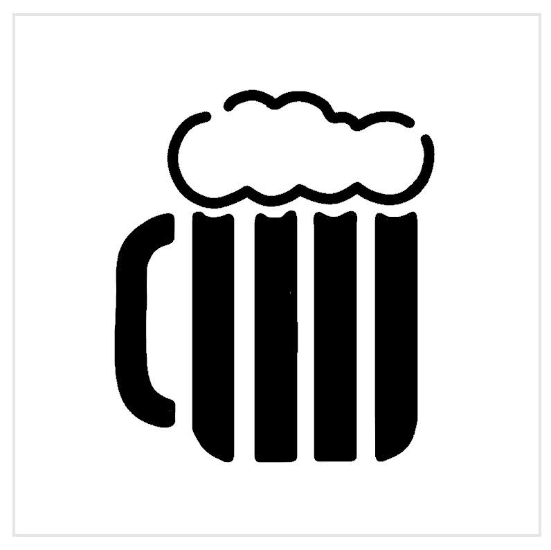 Beer Mug Professional Stencil Insert
