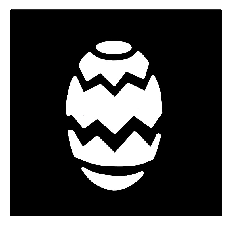 Easter Egg Professional Stencil Insert
