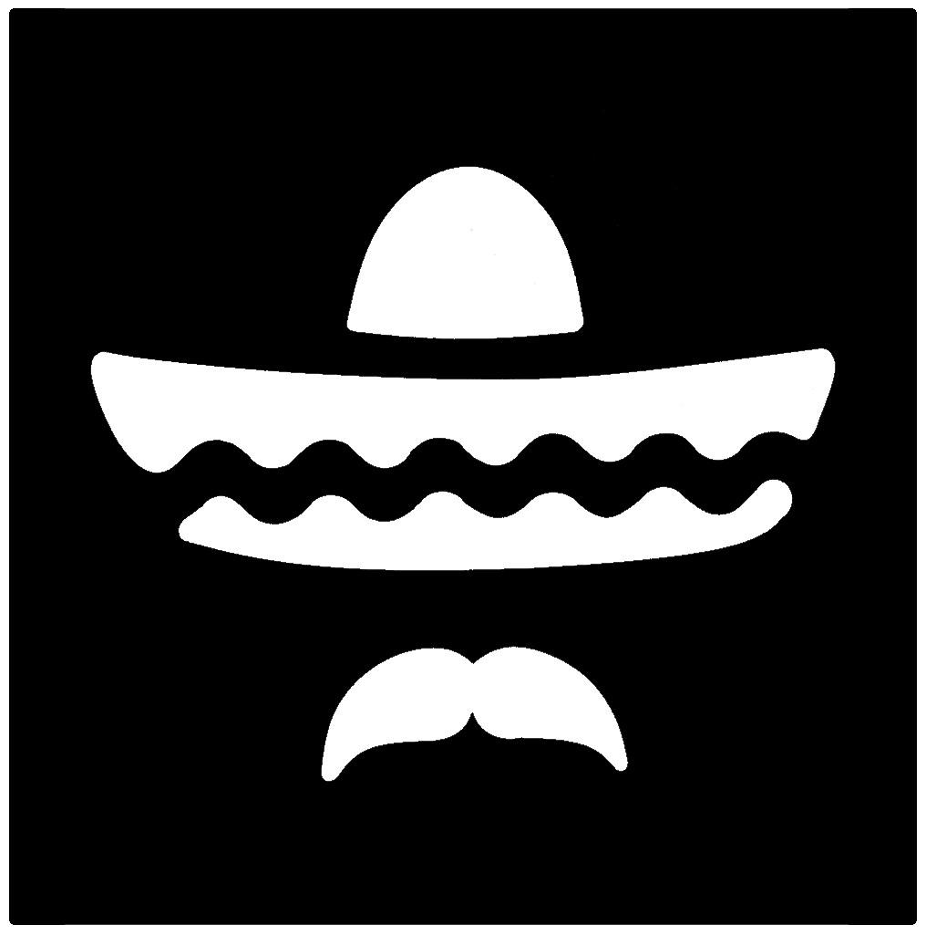 Sombrero Professional Stencil Insert