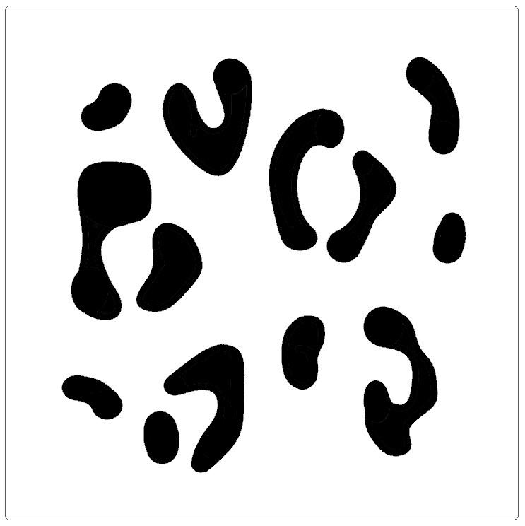 Cheetah Print Professional Stencil Insert