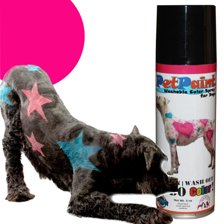 Colored Pet Hair Spray - Poodle Pink