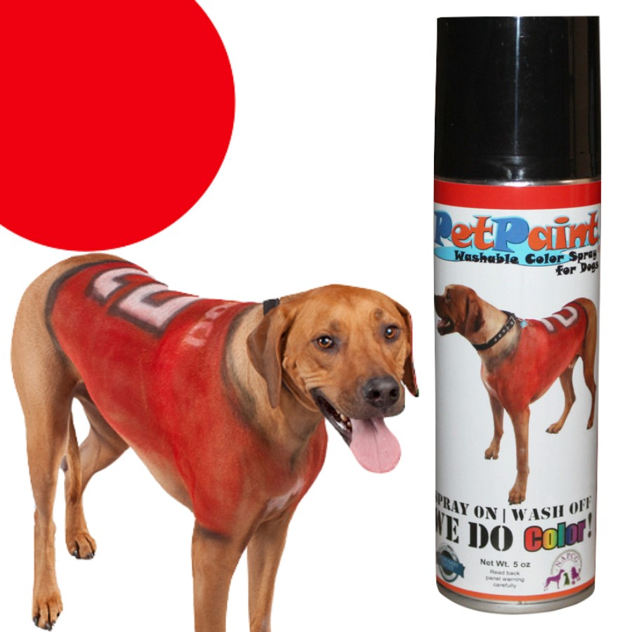Colored Pet Hair Spray - Rescue Red