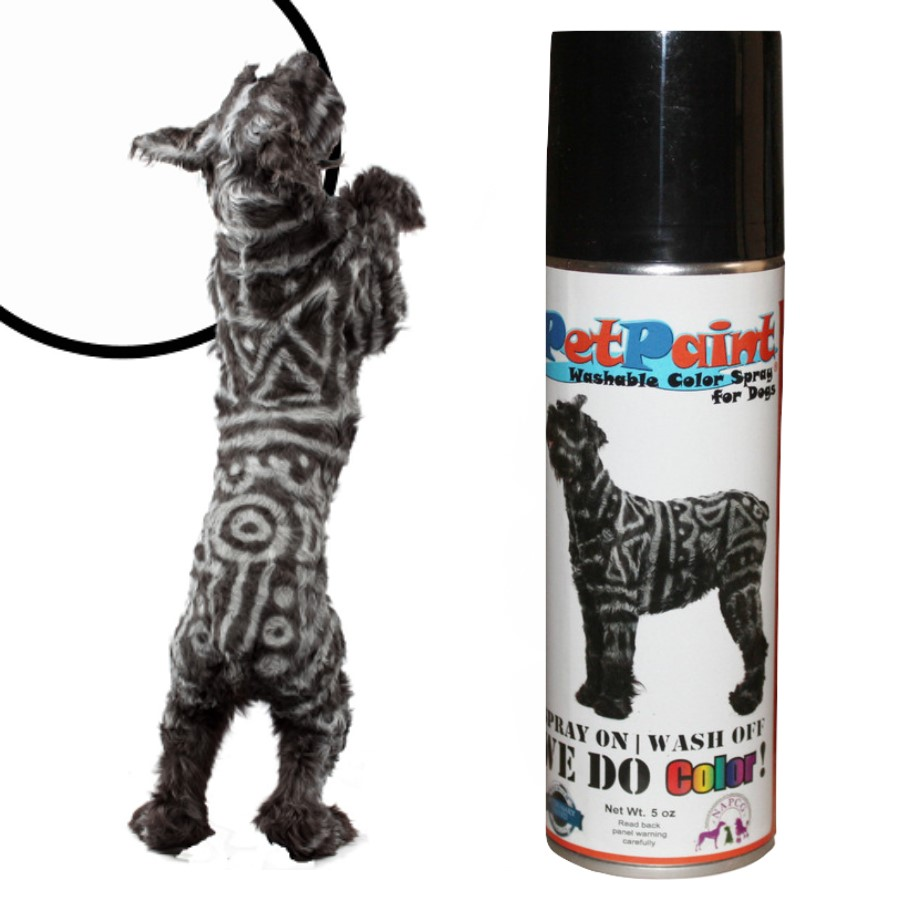 Colored Pet Hair Spray - Whippet White