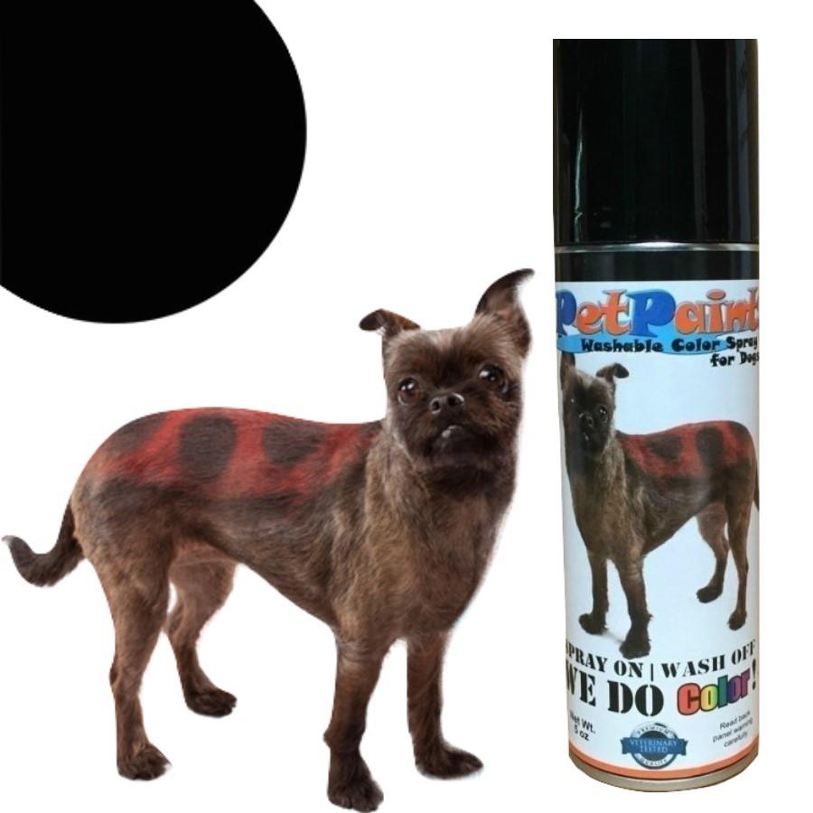 Colored Pet Hair Spray - Basset Black