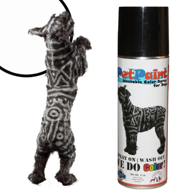 Colored Pet Hair Spray Whippet White Pet Paint