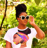 Nubian Queen Fashion Crop Top
