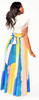 Colorful Flowy Maxi Skirt