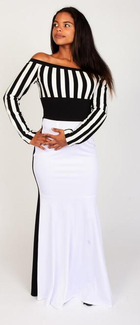 Black & White Maxi