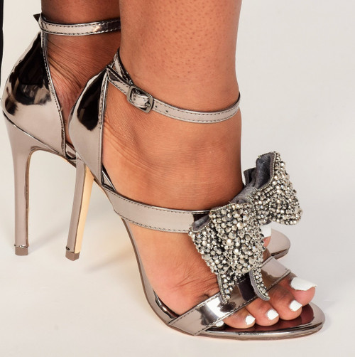 Dazzling Rhinestone Heels