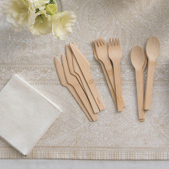 Veneerware Compostable Cutlery