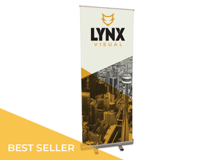 100 Series, Banner Stand, Economical, Cheap, Inexpensive, Aluminum, Retractable, premium vinyl, roll up, roll-up