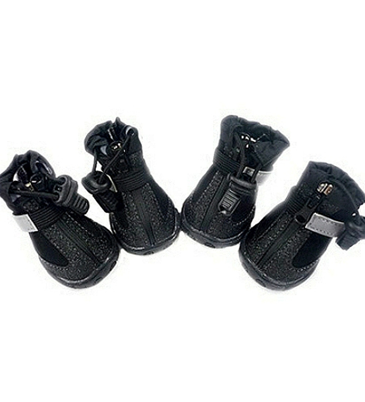 a78bd38b00 ... All Weather Dog Boots Black