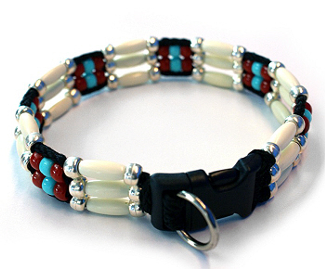 Zoe Beaded Dog Collar