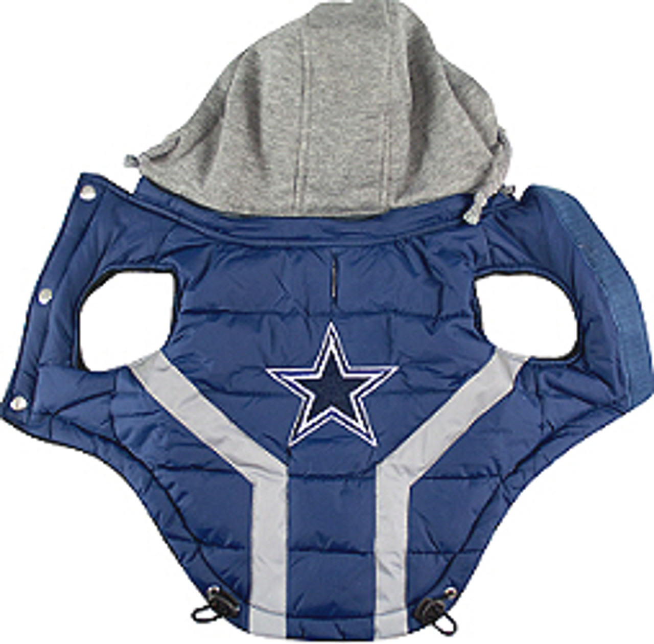 differently bb201 f533b NFL Dallas Cowboys Licensed Dog Puffer Vest Coat - S - 3X