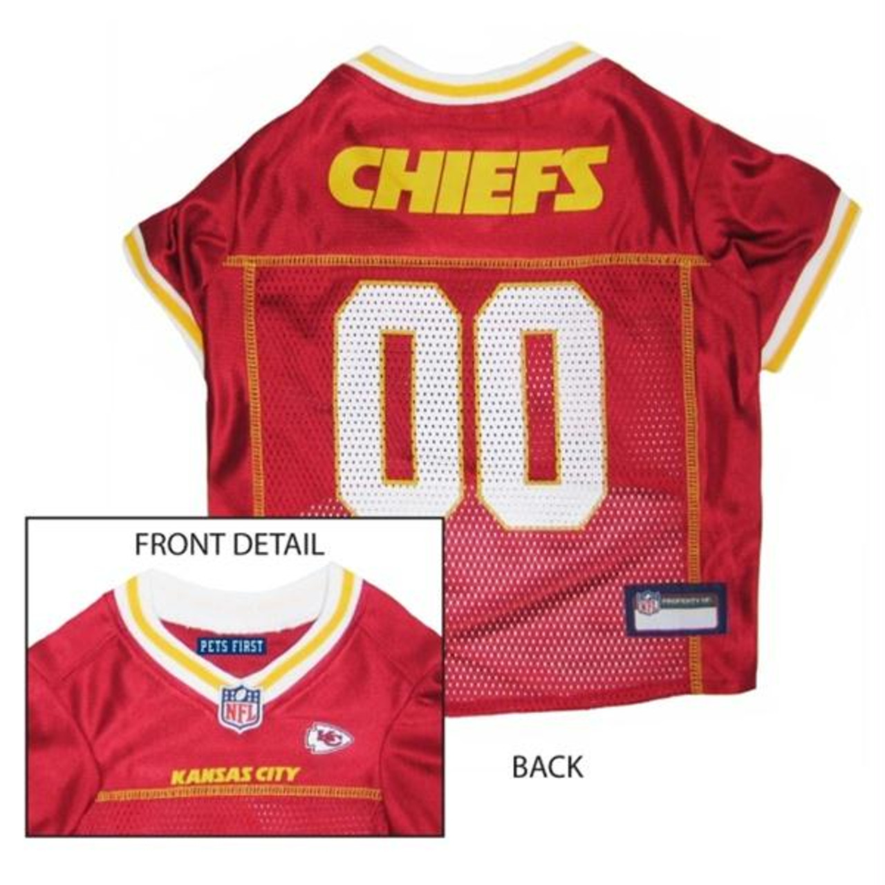 Kansas City Chiefs Pet Dog Premium Mesh Vest Harness XS