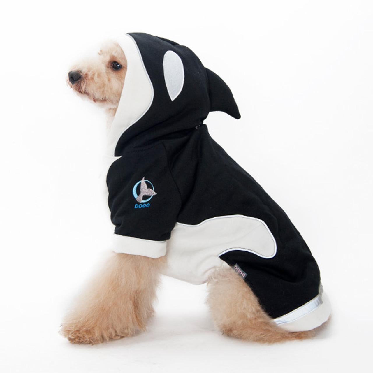 Whales Tie On Pet Bandana