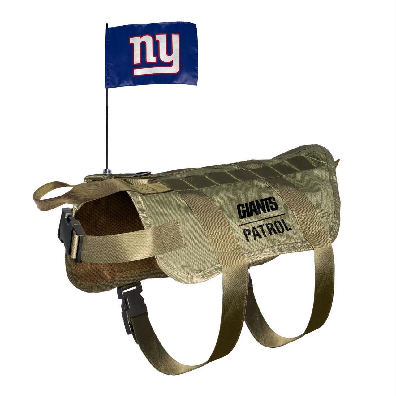 pretty nice 0245a c58b2 New England Patriots Pet Tactical Vest