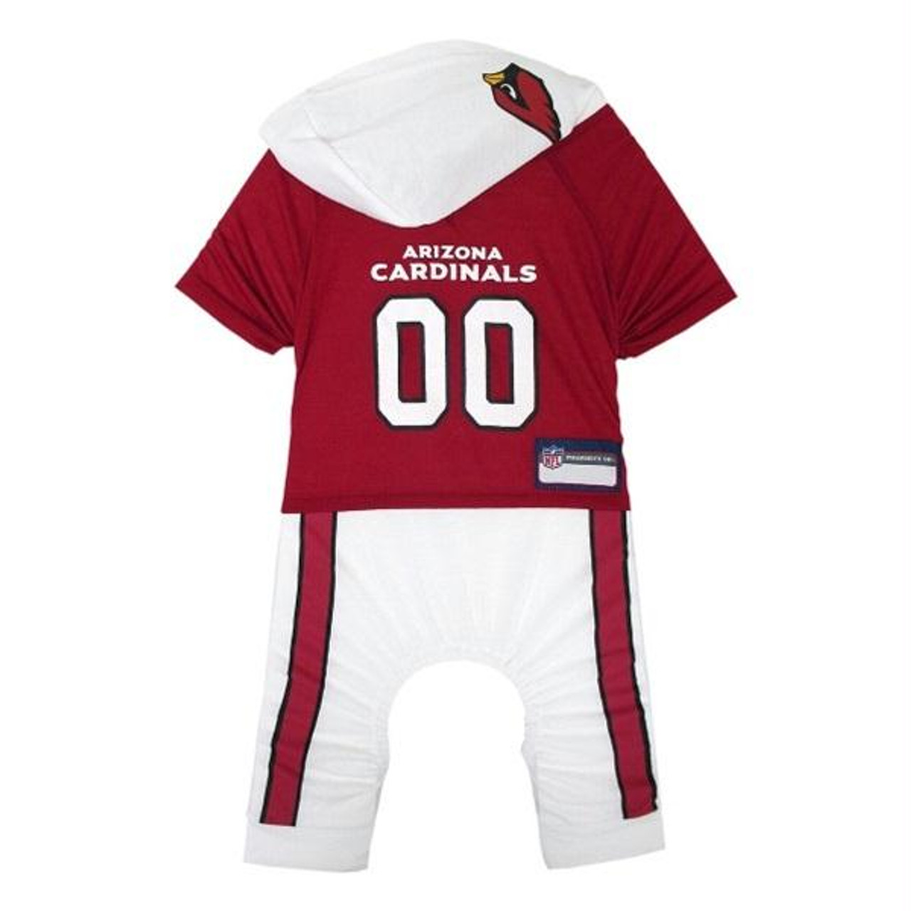 brand new 38ded 6a166 Arizona Cardinals Pet Onesie