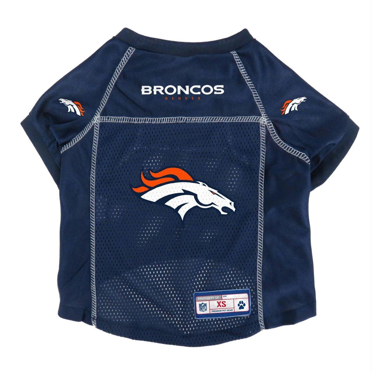 new style dc5f7 f3c9f Denver Broncos Mesh Pet Jersey