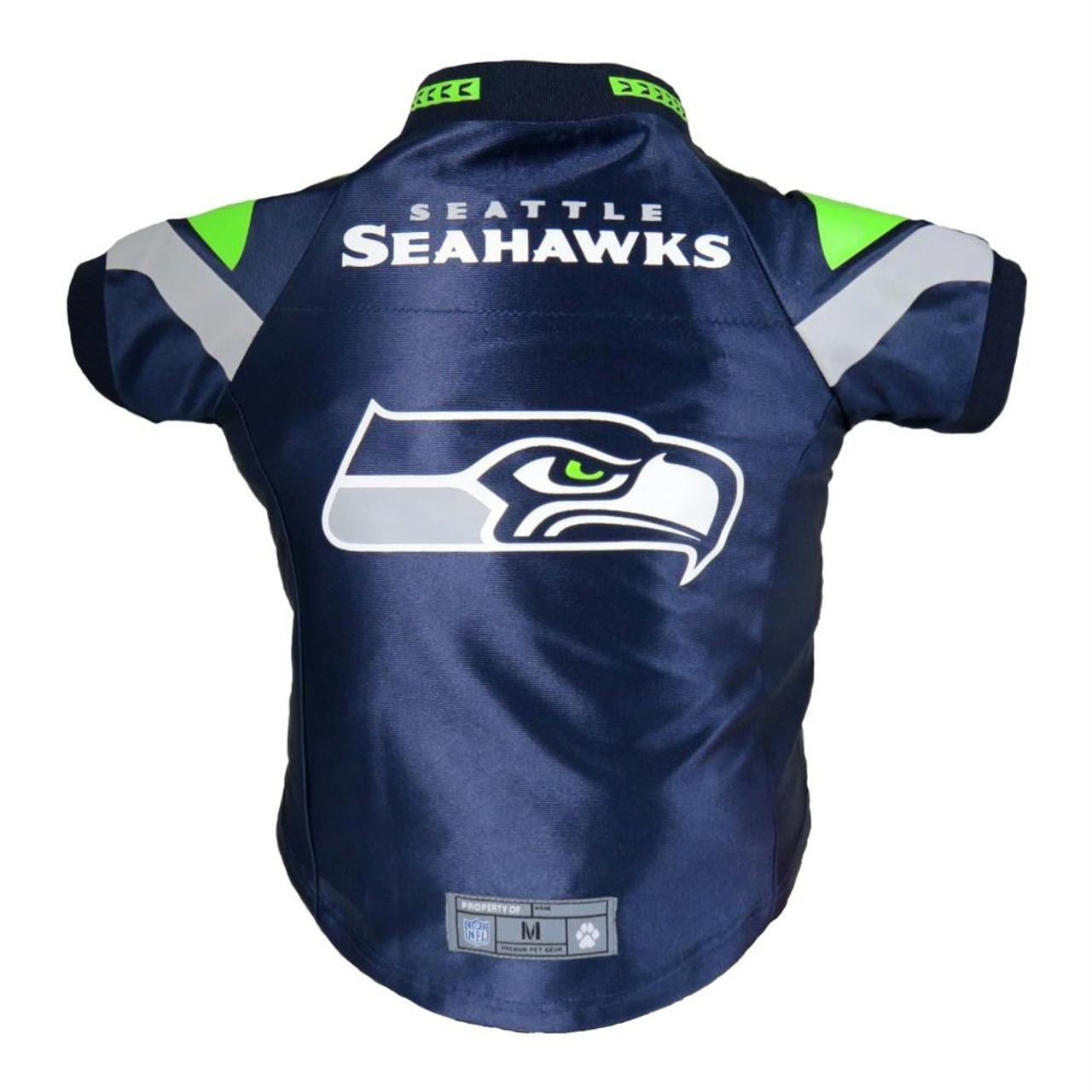 5a2d682c41b Seattle Seahawks Pet Premium Jersey