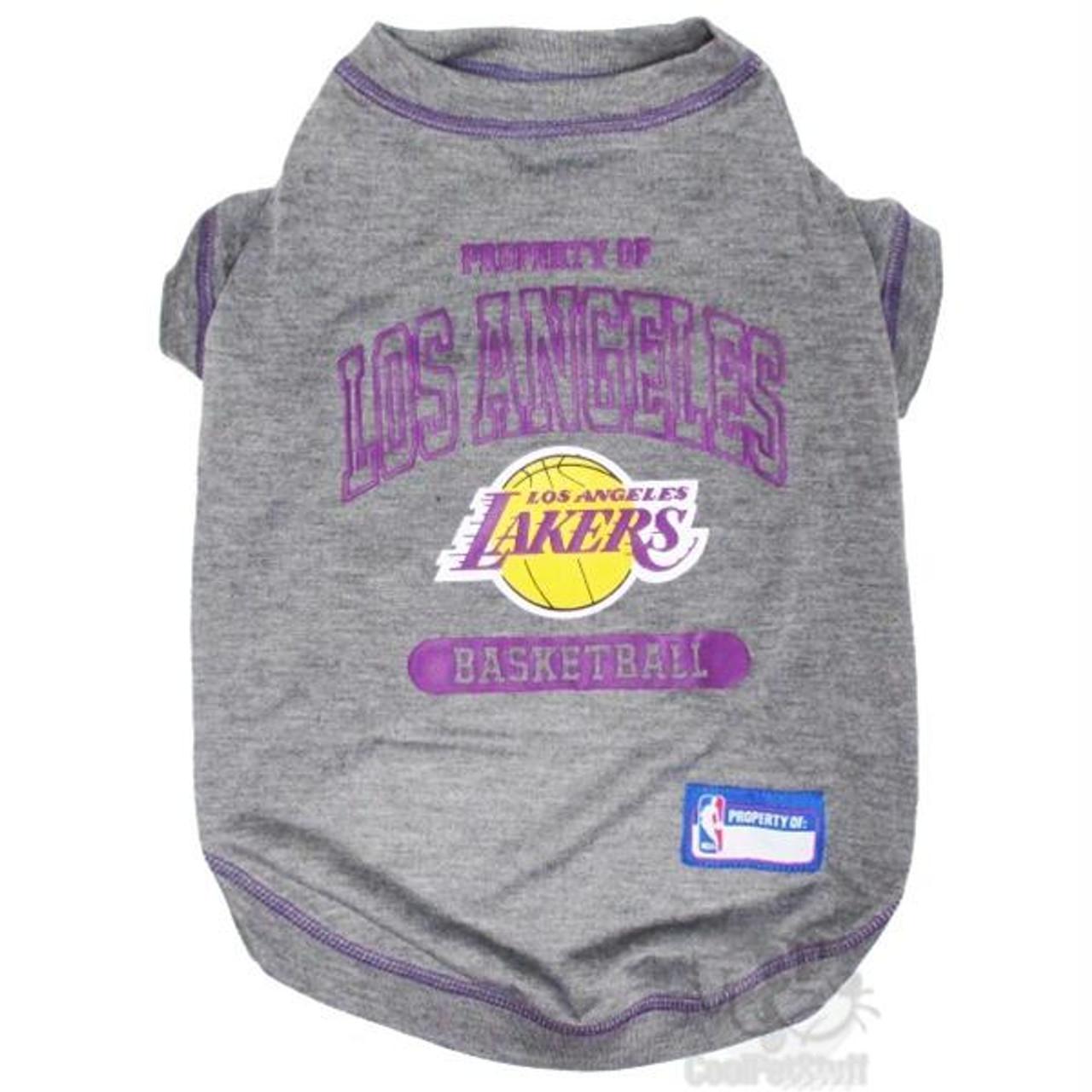 b80d553a442 Los Angeles Lakers Pet T-Shirt | PupRwear