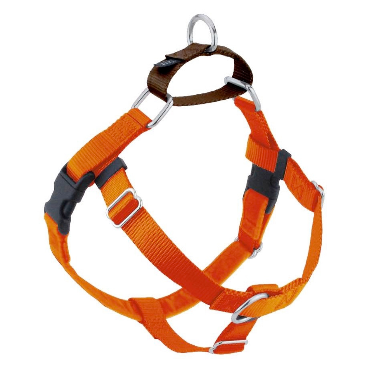 RustBrown Freedom_Harness__89286.1546392931?c=2?imbypass=on rust freedom no pull dog harness & optional leads 2 hounds at puprwear