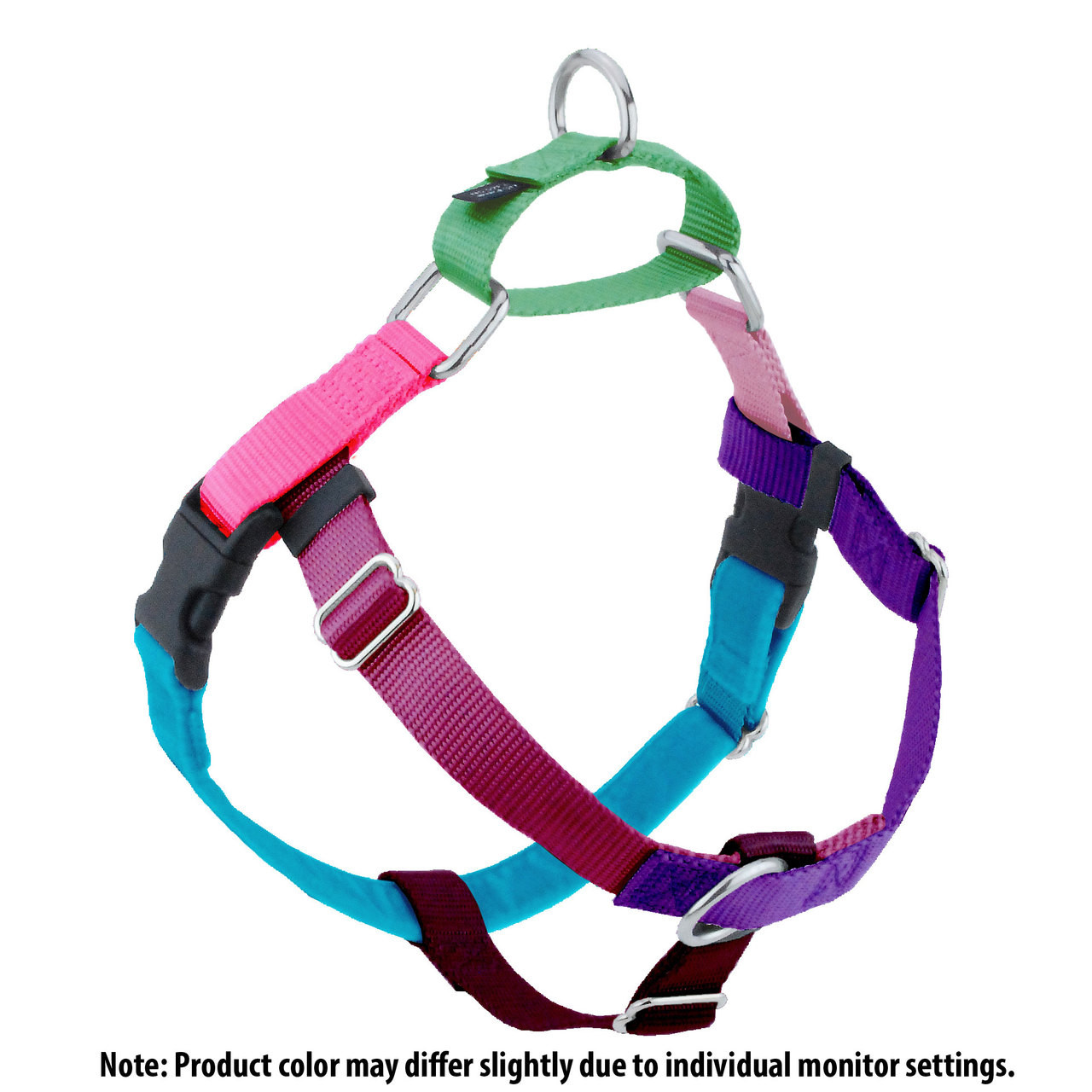 e93a16f64922 Jellybean Sugar Freedom No-Pull Dog Harness & Optional Leads | 2 Hounds at  Worthy Dog at Worthy Dog at PupRwear