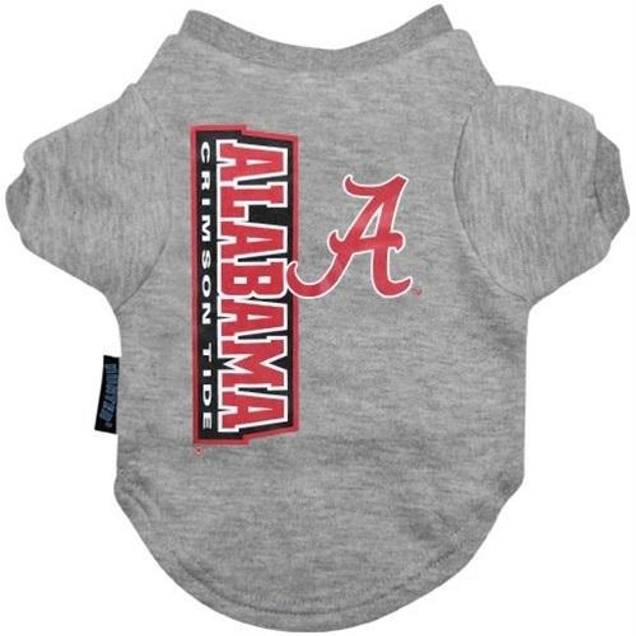 Alabama Crimson Tide NCAA Dog Pet Tee T-Shirt