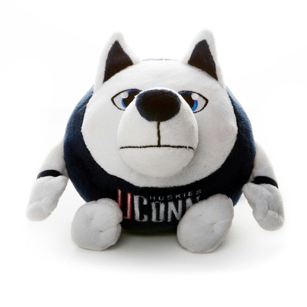 NCAA UConn Huskies Gray Large Dog Collar