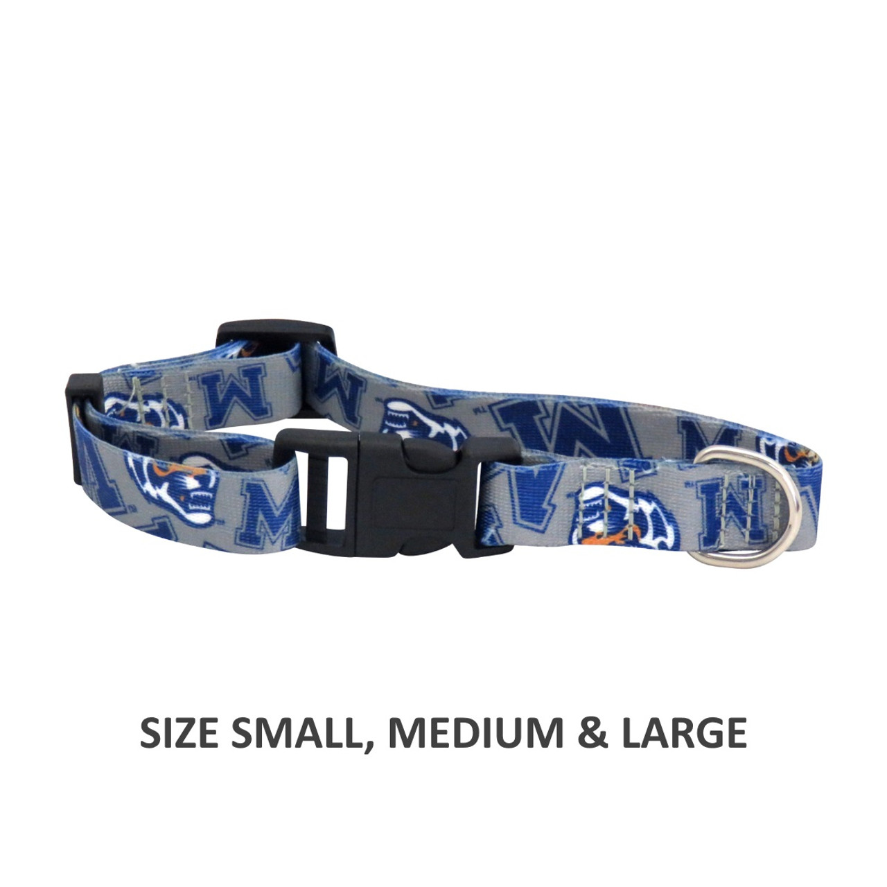 NCAA Michigan Wolverines Premium Medium Dog Collar