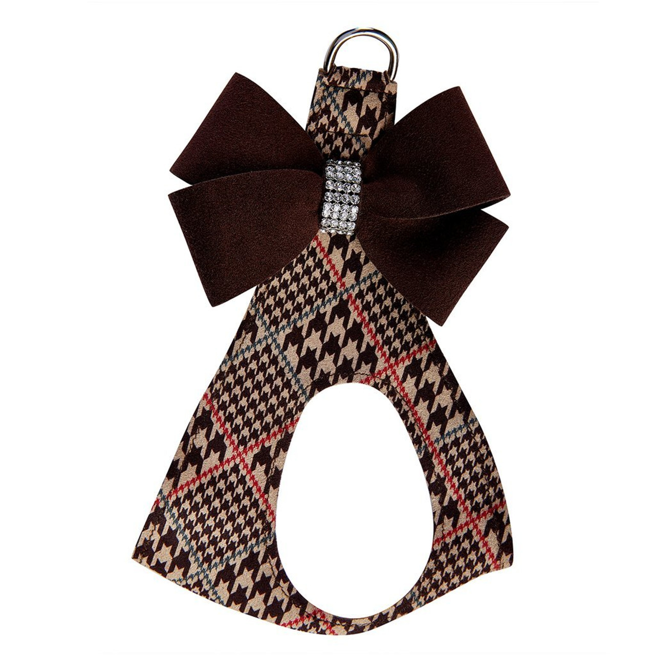 Glen Houndstooth Collection - Chocolate