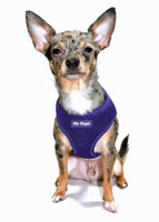 Mesh Dog Harness Vests - Purple Ultra Comfort