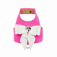 Custom Colors Bailey II Harness - Silver Stardust & Tail Bow