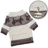 Brown Doggies Dog Sweater