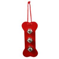 Red Bell door hanger - Bone