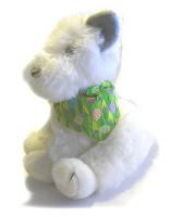 Easter Bandana - Green Easter Eggs