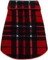 Red Blanket Plaid Pet Dog Pullover