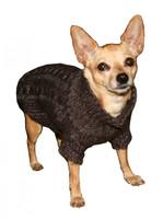 HD Crown Scrunchy Puffer Dog Vest Coat - Black by Hip Doggie