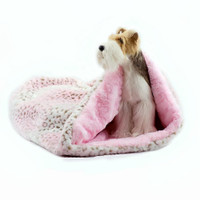 Cuddle Cup - Pink Lynx with Pink Shag by Susan Lanci Designs