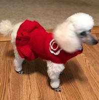 Red Dog Sweater Dress