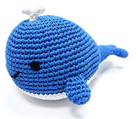 Whale PAWer Squeaker Dog Toy
