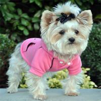 Sport Dog Hoodie - Raspberry Sorbet - Tiny - Big Dog Sizes
