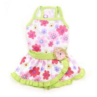 Floral Summer Dog Dress