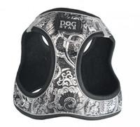EZ Reflective Royal Elegance Dog Harness Vest - Black