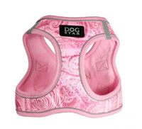 EZ Reflective Royal Elegance Dog Harness Vest - Pink