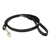 Braided Leather Dog Leashes 2