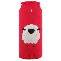 Cute Baa Sheep Dog Sweater by Worthy Dog - 2XL